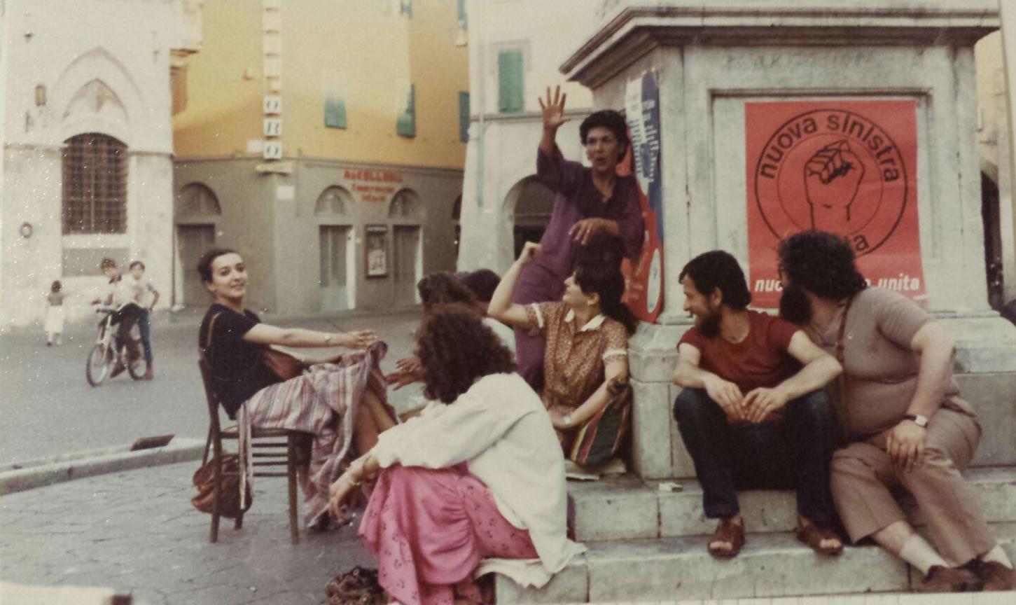 Primavera 1979-Grosseto. Pausa in campagna elettorale
