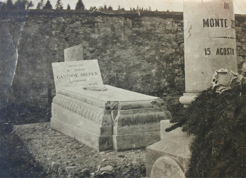 La tomba di Orefice (Fondo privato Famiglia Orefice)