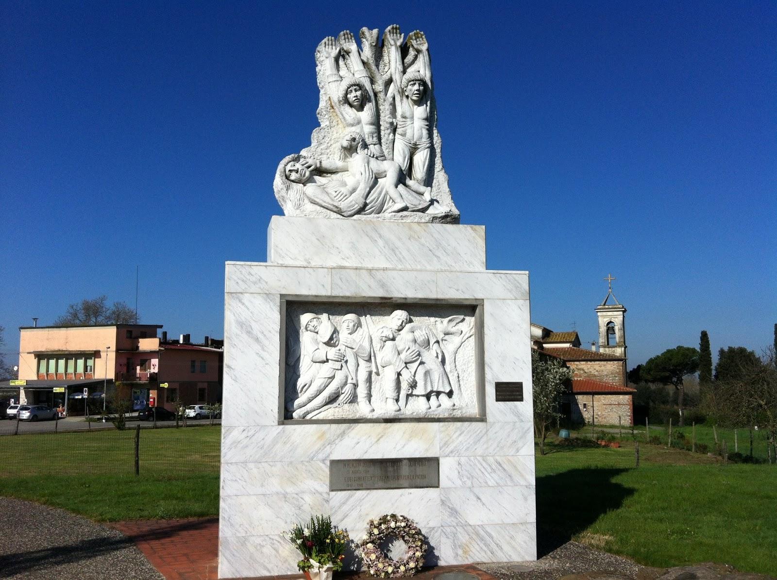Monumento in ricordo delle vittime a Larciano