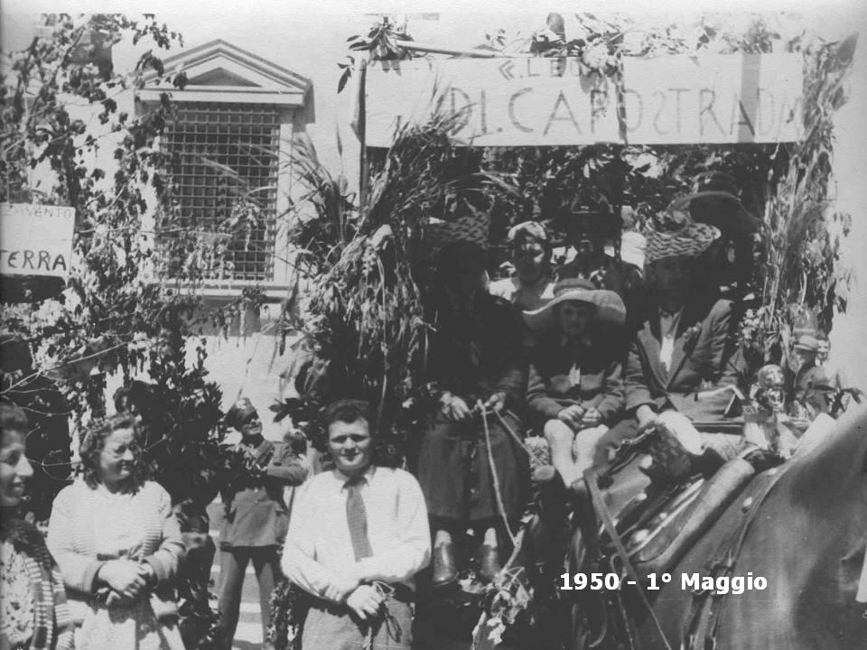 Foto primo Maggio Pistoia 1950