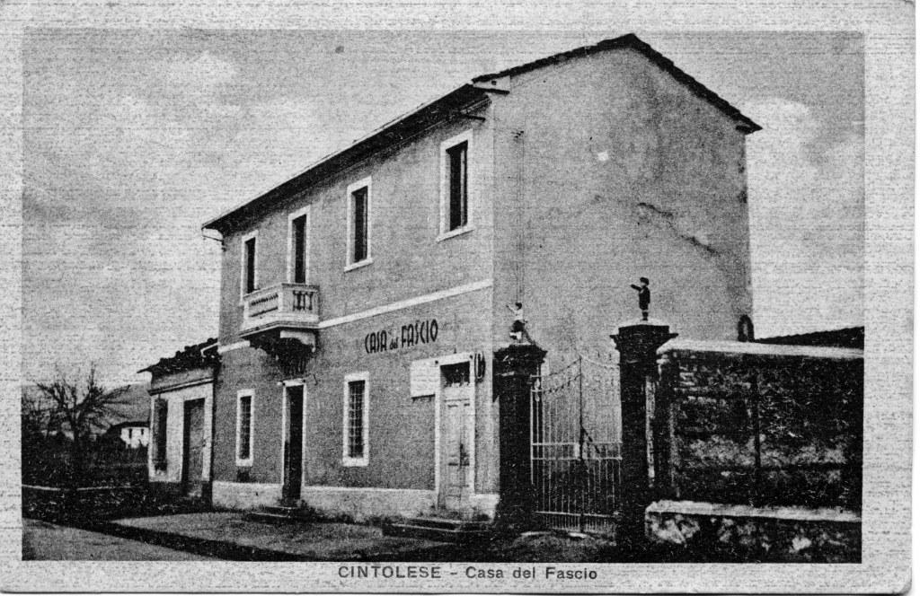Casa del fascio di Cintolese