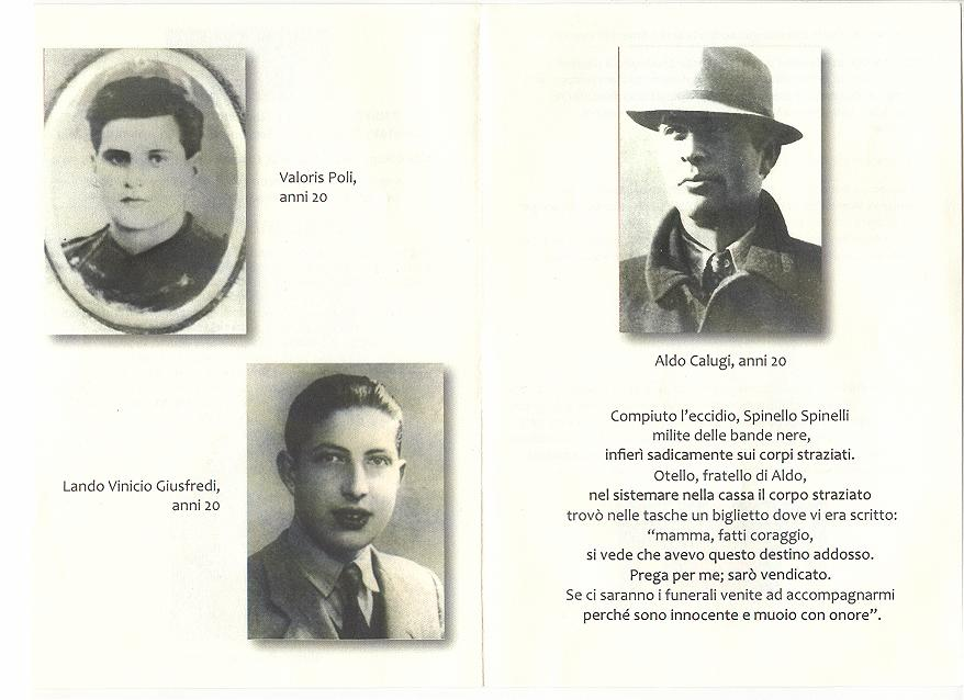 Martiri Santa Barbara (Pistoia 31 marzo 1944)
