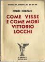 come visse morì V. Locchi