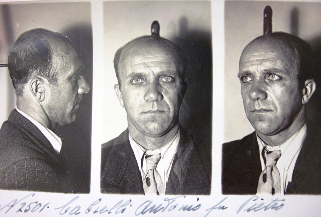 foto segnaletica di antonio cabrelli_da Archivio centrle dello Stato_Casellario politico centrale