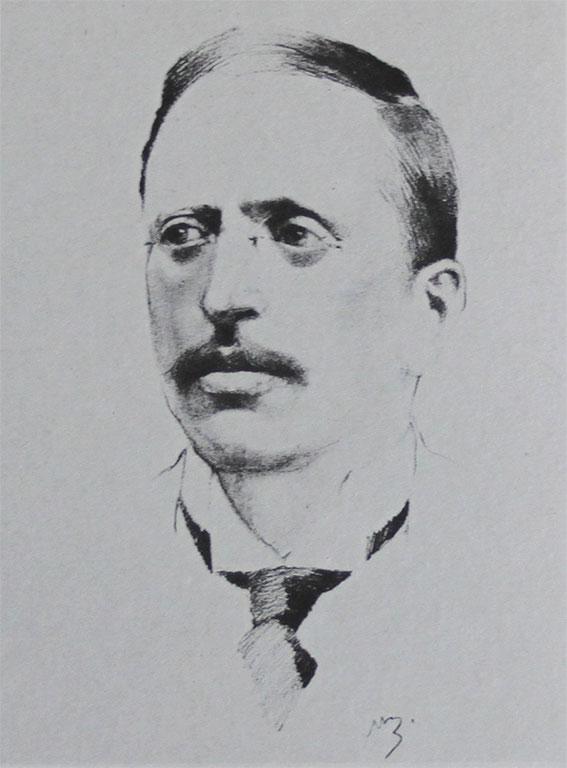 Ritratto Pietro Benini (1867-1913)