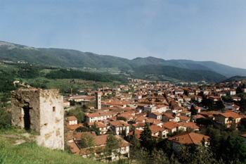 Panorama di Vaiano