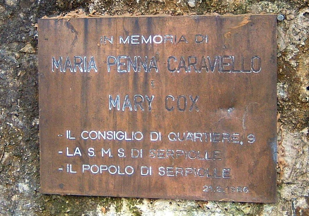 Monumento Cox e Caraviello