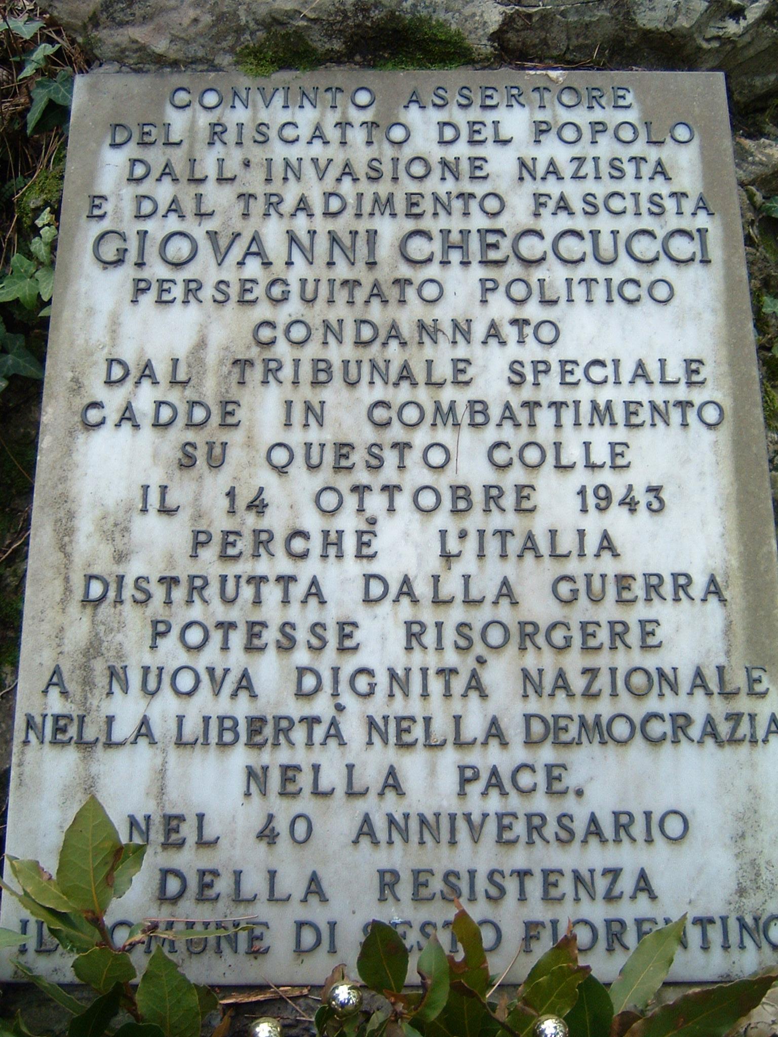 Monumento a Checcucci
