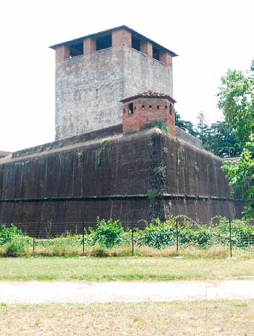 La Fortezza Santa Barbara a Pistoia