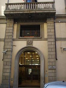 Palazzo della Questura -ingresso