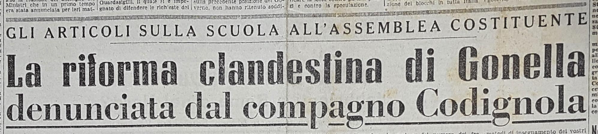 """L'Italia Libera"", 22 aprile 1947"