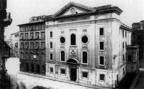 La vecchia sinagoga di Livorno