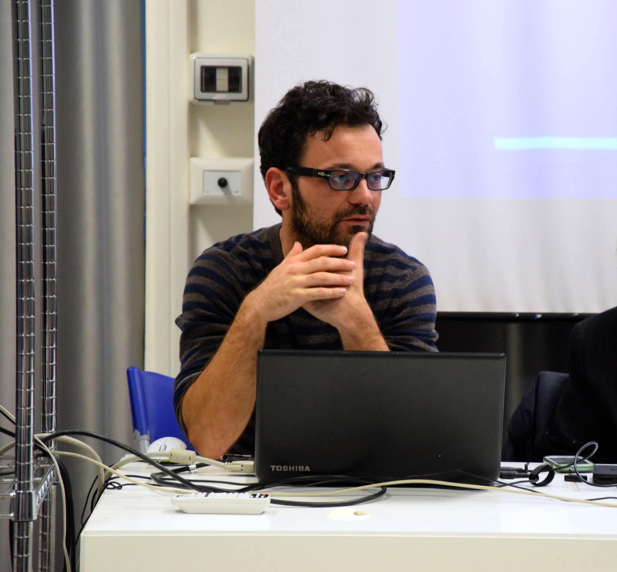 Il nuovo direttore dell'Isrec di Lucca Andrea Ventura, classe 1983, dottore di ricerca in Storia Contemporanea.