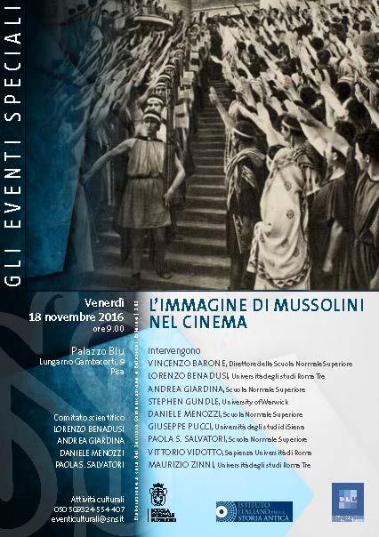 L'immagine di Mussolini nel cinema | ToscanaNovecento