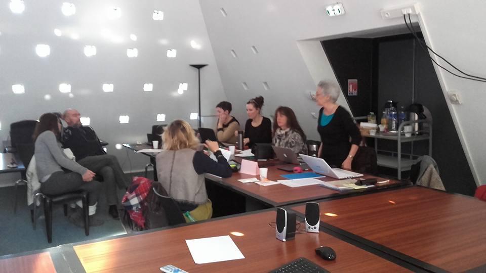 Secondo giorno di progetto. Liceo Maillol di Perpignan (Francia)