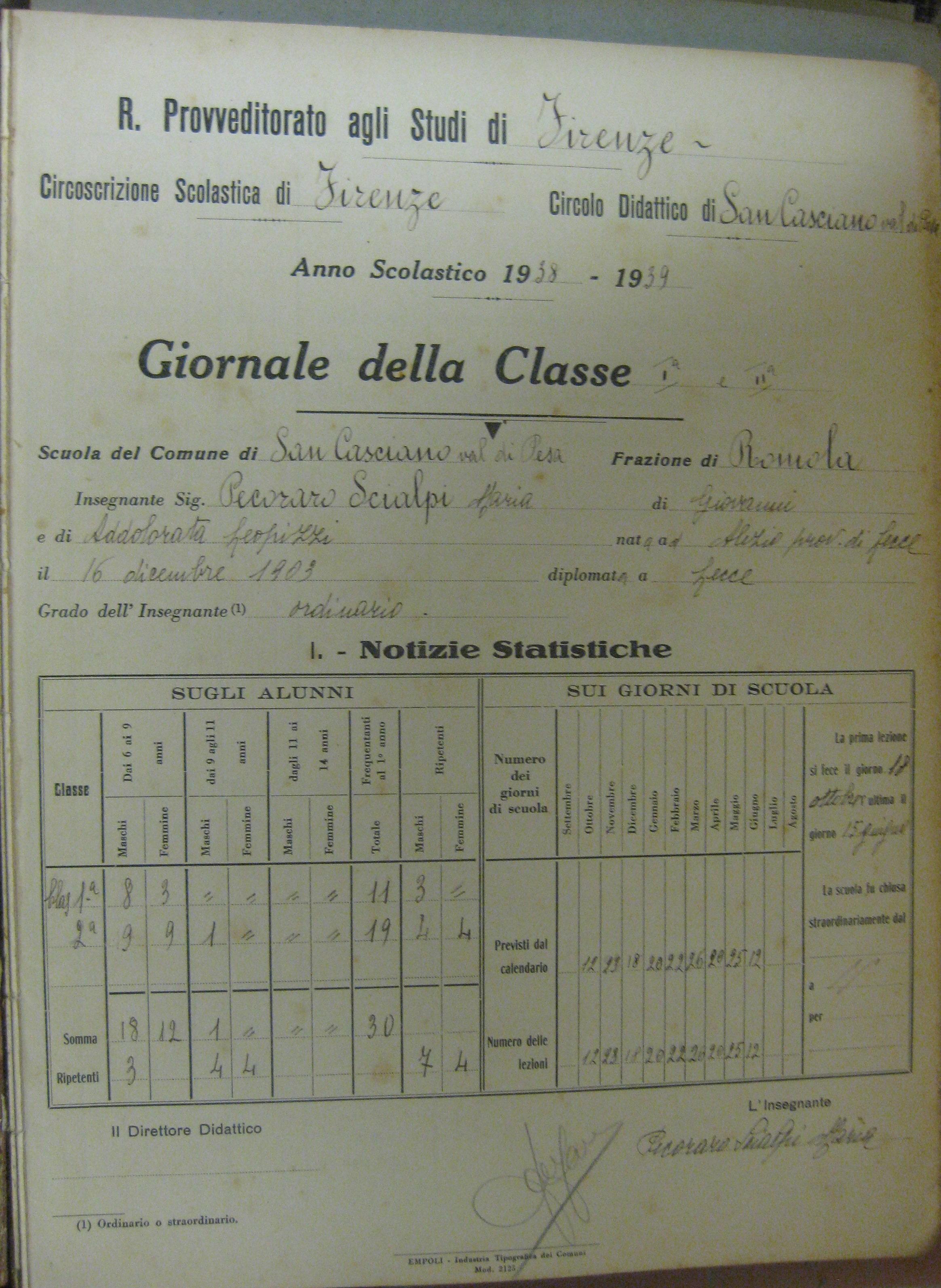 Giornale della classe dati classe-min