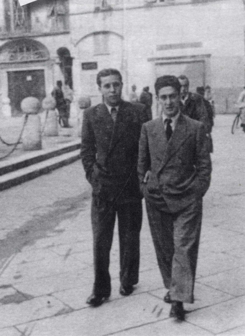 Lucca: Foggi, sulla sinistra, in uno scatto del dopoguerra.