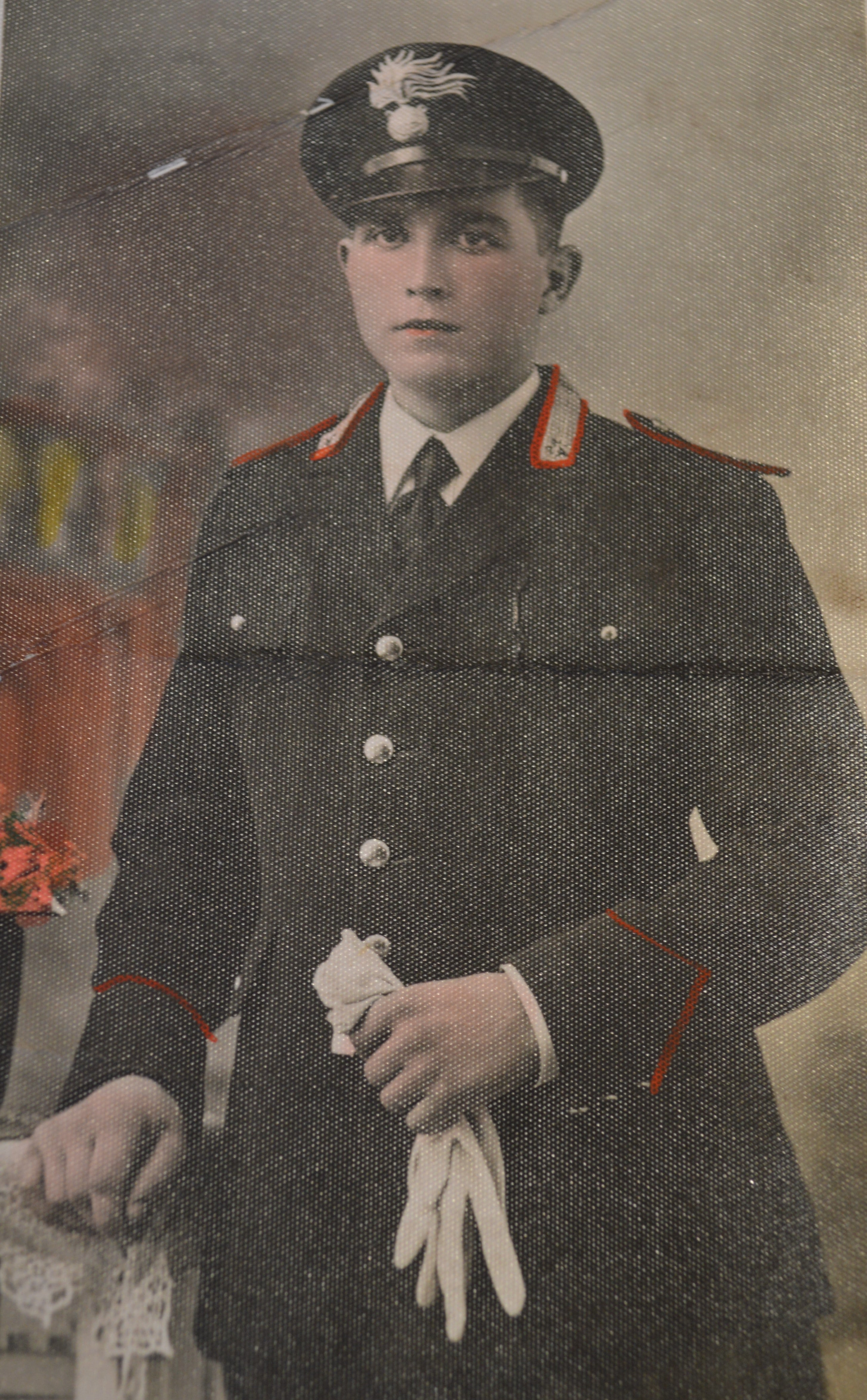 Giovanni Fattori allievo carabiniere-min