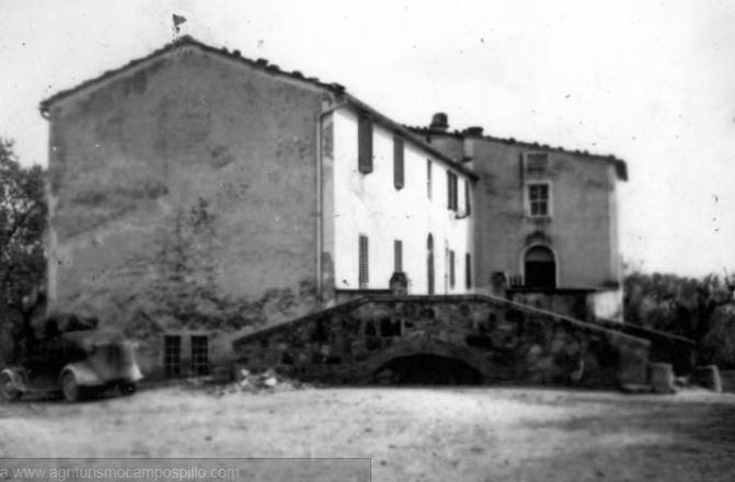 Foto storica della tenuta di Campospillo