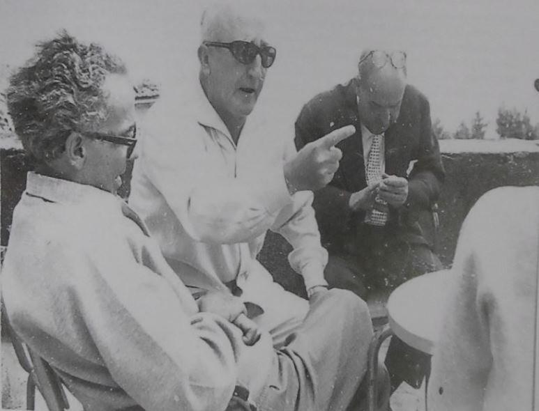 Da destra: Tolomeo Faccendi, Tullio Mazzoncini, Giulio Porciatti