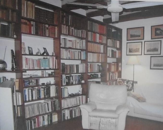 Parte della biblioteca di Mazzoncini