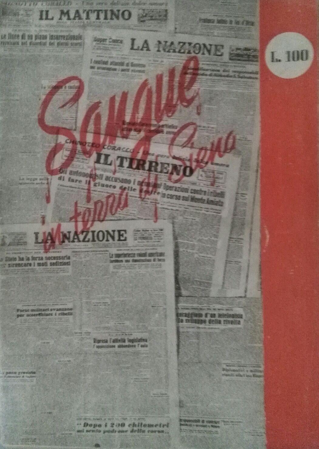 Opuscolo del Pci sui fatti del luglio 1948 e sulla repressione che ne seguì