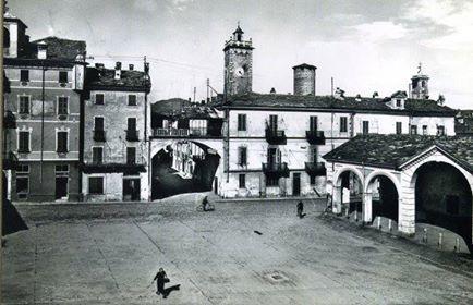 Foto panoramica di Cuorgné