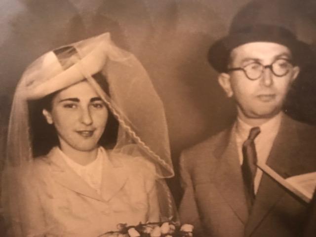 Vera e Otto (foto archivio privato famiglia Fischer)