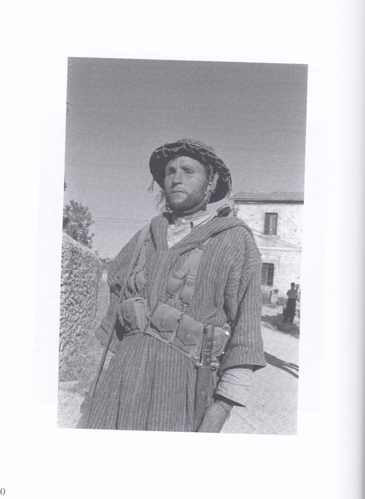 """Goumier nel territorio senese. Immagine tratta da R. Bardotti, """"Attenti a dove sparate."""", Siena, Betti editore, 2018"""