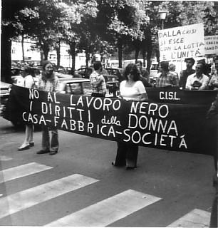 Manifestazione a Lucca, anni '70