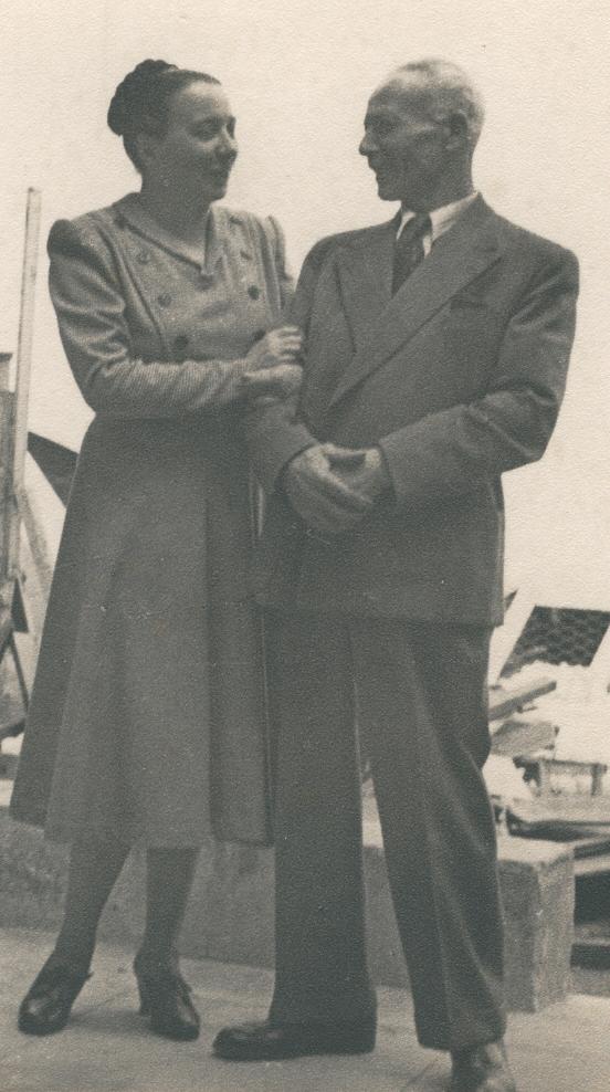 Erminia Cremoni e Emilio Angeli (Archivio Centro Studi Roberto Angeli)