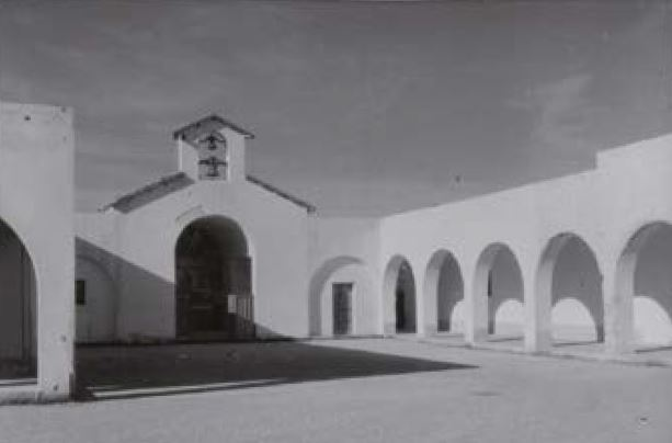 Tripolitania, il villaggio Corradini, anni Cinquanta