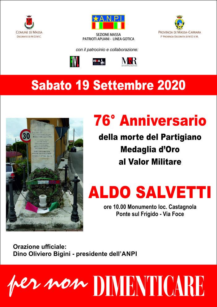 commemorazione salvetti e paolini 2020