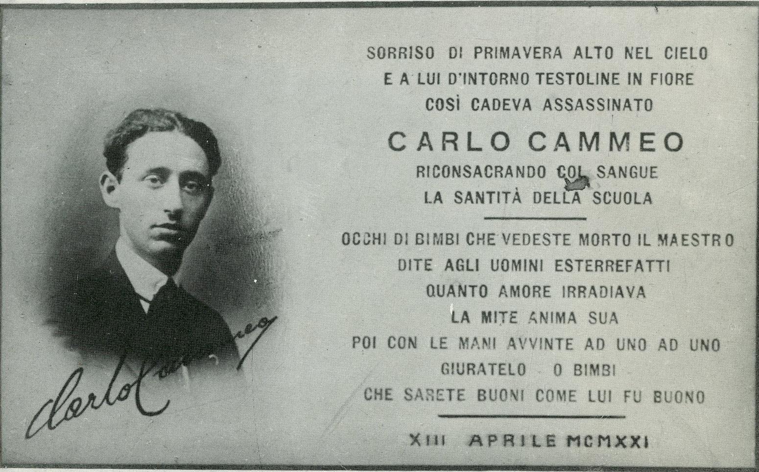 09_1921_Carlo_Cammeo_cartolina_commemorativa