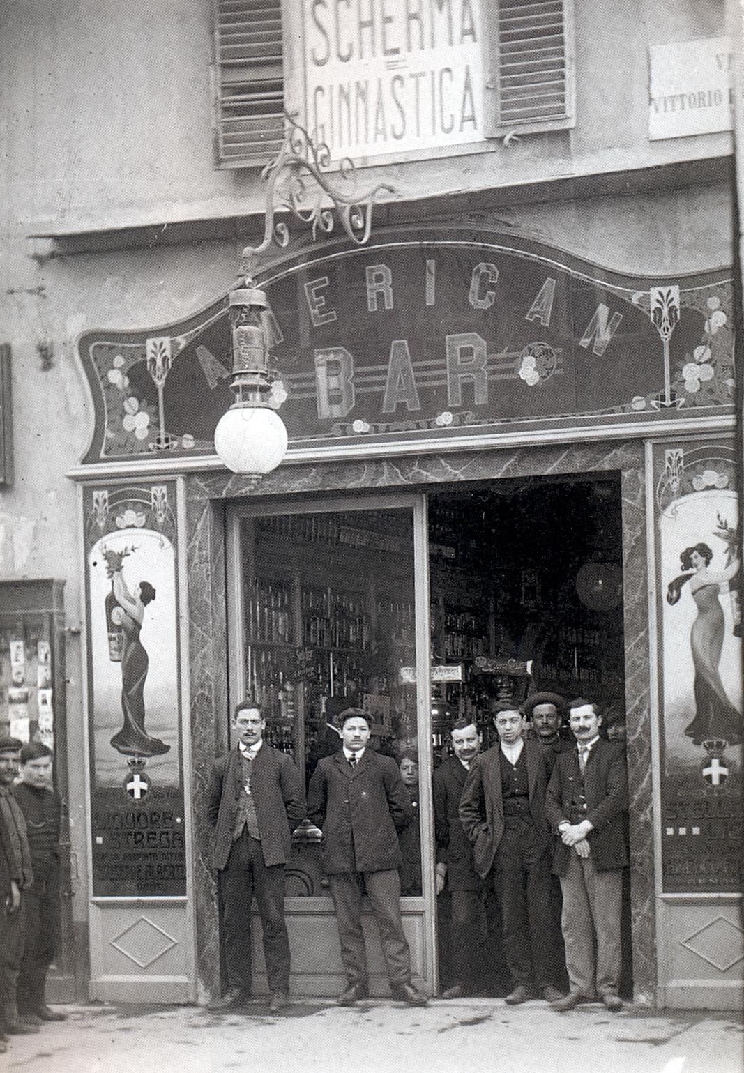 Il Caffè Bettinetti a Livorno (Archivio Istoreco)