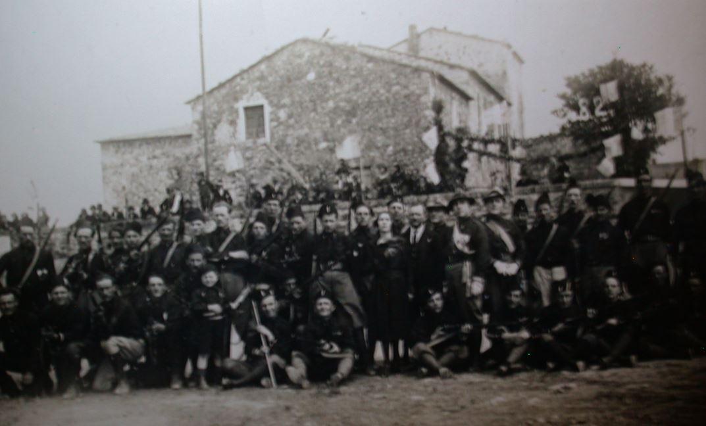 Archivio Niosi, Fascisti del fascio di combattimento di Roccastrada, anni Venti/Trenta