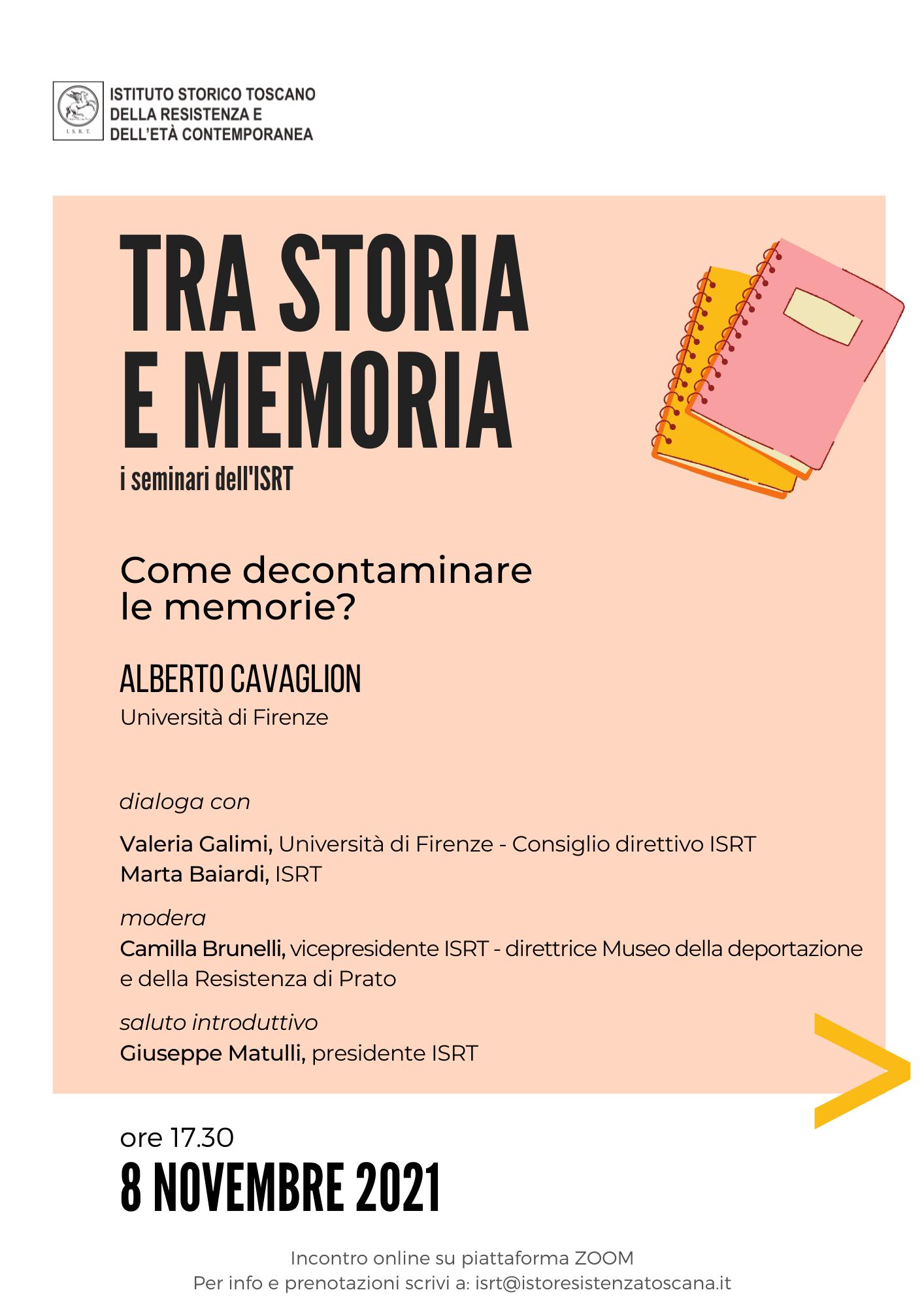 Tra storia e memoria_Cavaglion